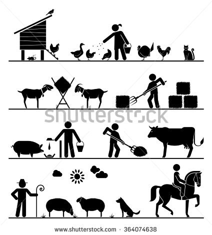 Cattle Feed Stock Vectors, Images & Vector Art.