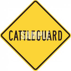 Cattleguard_Road_Sign_Royalty_Free_Clipart_Picture_100226.