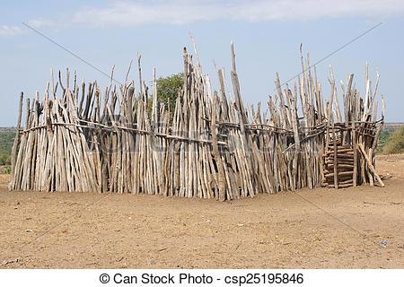 Stock Photo of Karo, Ethiopia, Africa.