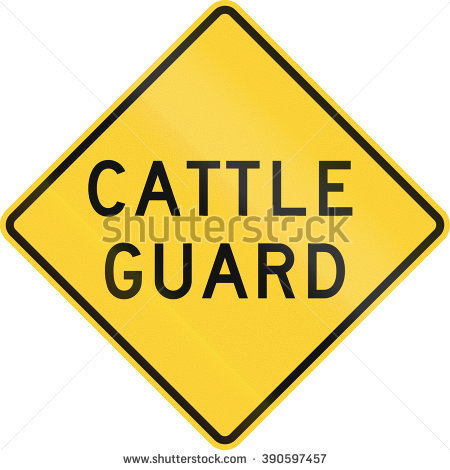 Cattle Guard Stock Photos, Royalty.