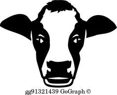 Cow Head Clip Art.