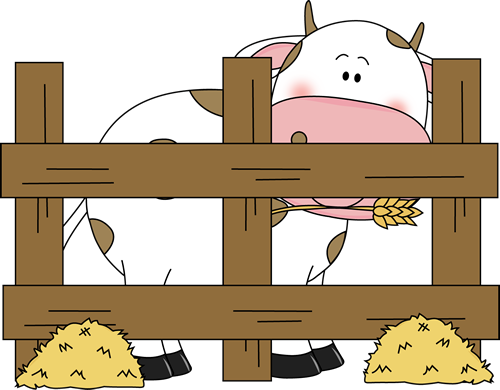 Farm Cow Clipart.