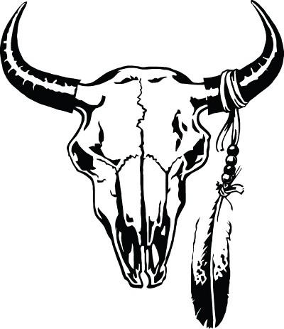 Bull Skull Clipart.