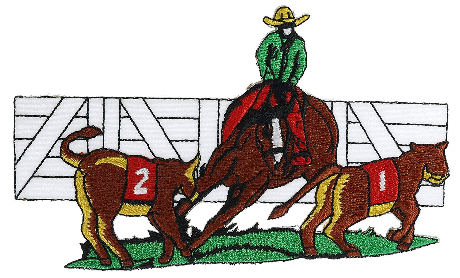 Amazon.com: Cattle Sorting Rodeo 5 1/2 inch Patch.