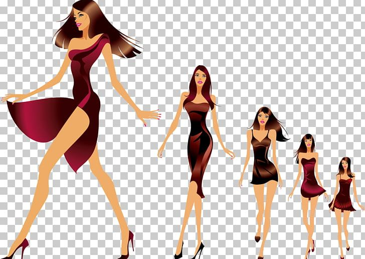 Fashion Show Runway Model PNG, Clipart, Beauty, Cartoon Characters.
