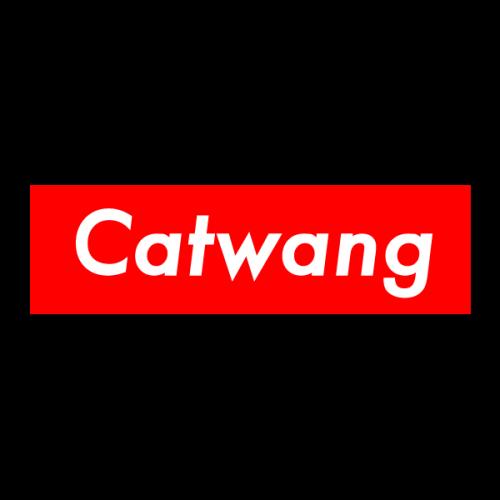 Наклейка Catwang PNG.