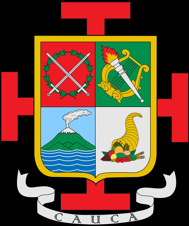 File:Escudo del Cauca.svg.