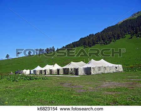 Drawings of Frontier in the Caucasus mountains k6823154.
