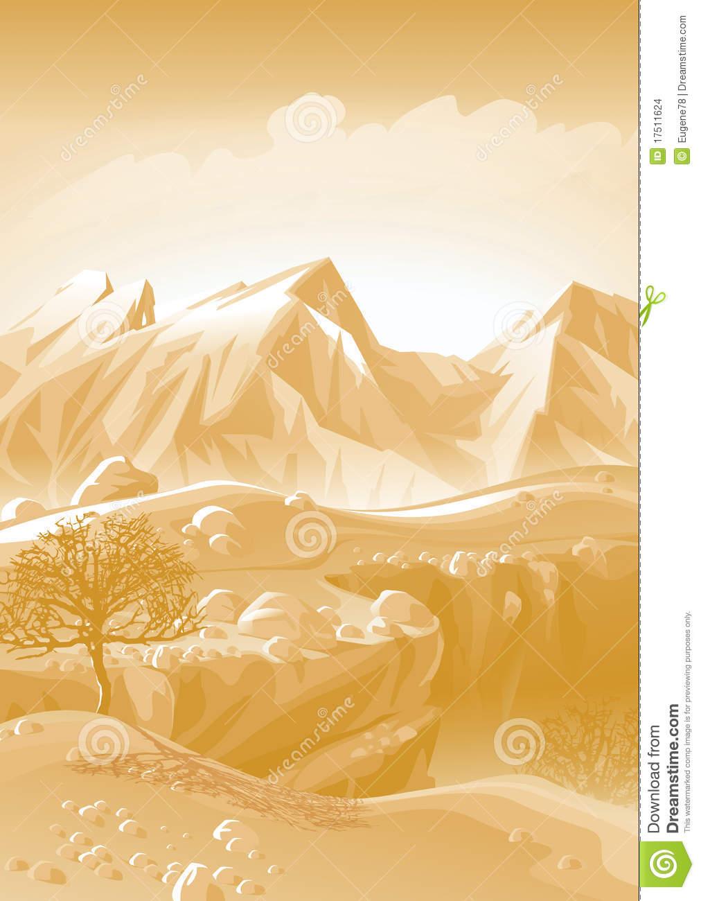 Caucasus Mountains. Stock Images.