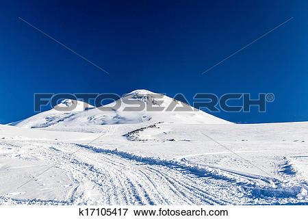 Picture of Elbrus, Caucasus Mountains k17105417.