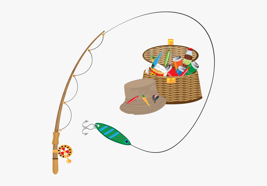 Fishing Clipart Caught Fish.