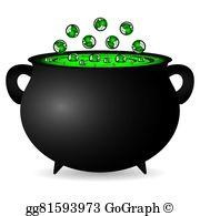 Cauldron Clip Art.