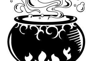 Cauldron clipart black and white 4 » Clipart Portal.