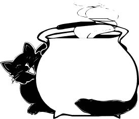 Free Witches Cauldron Clipart.