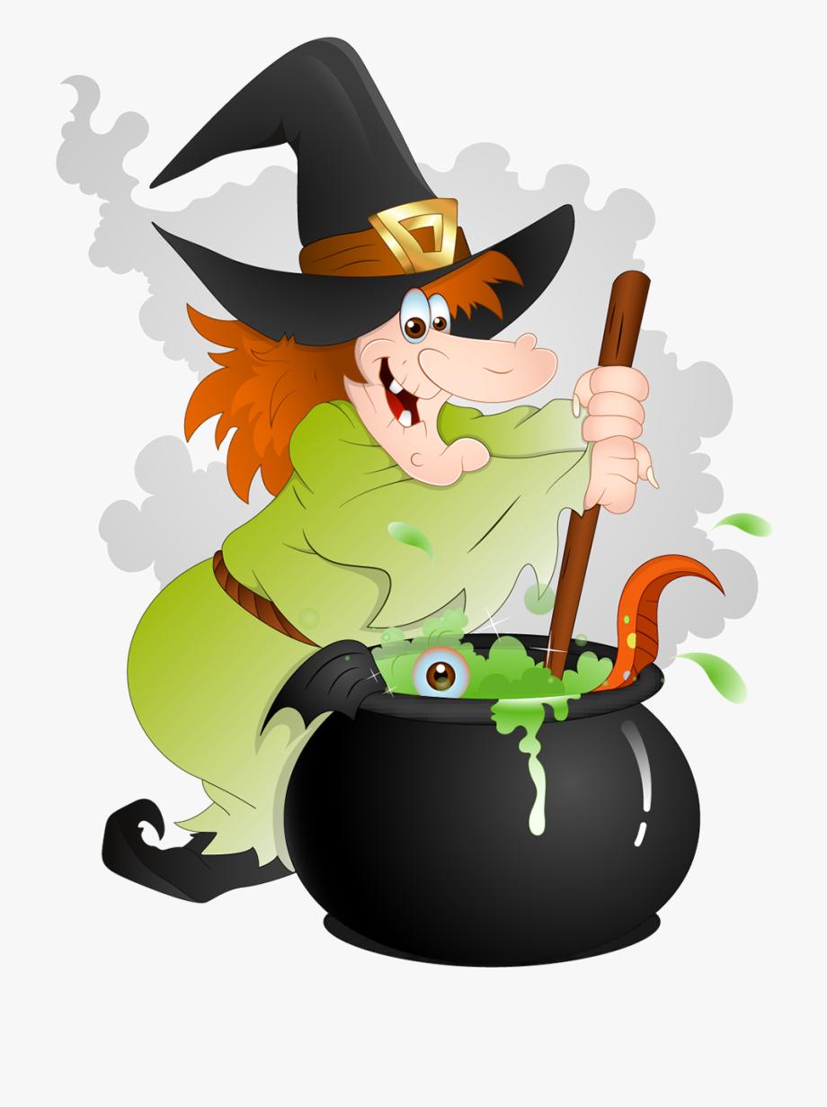 Witch Cauldron Clipart.