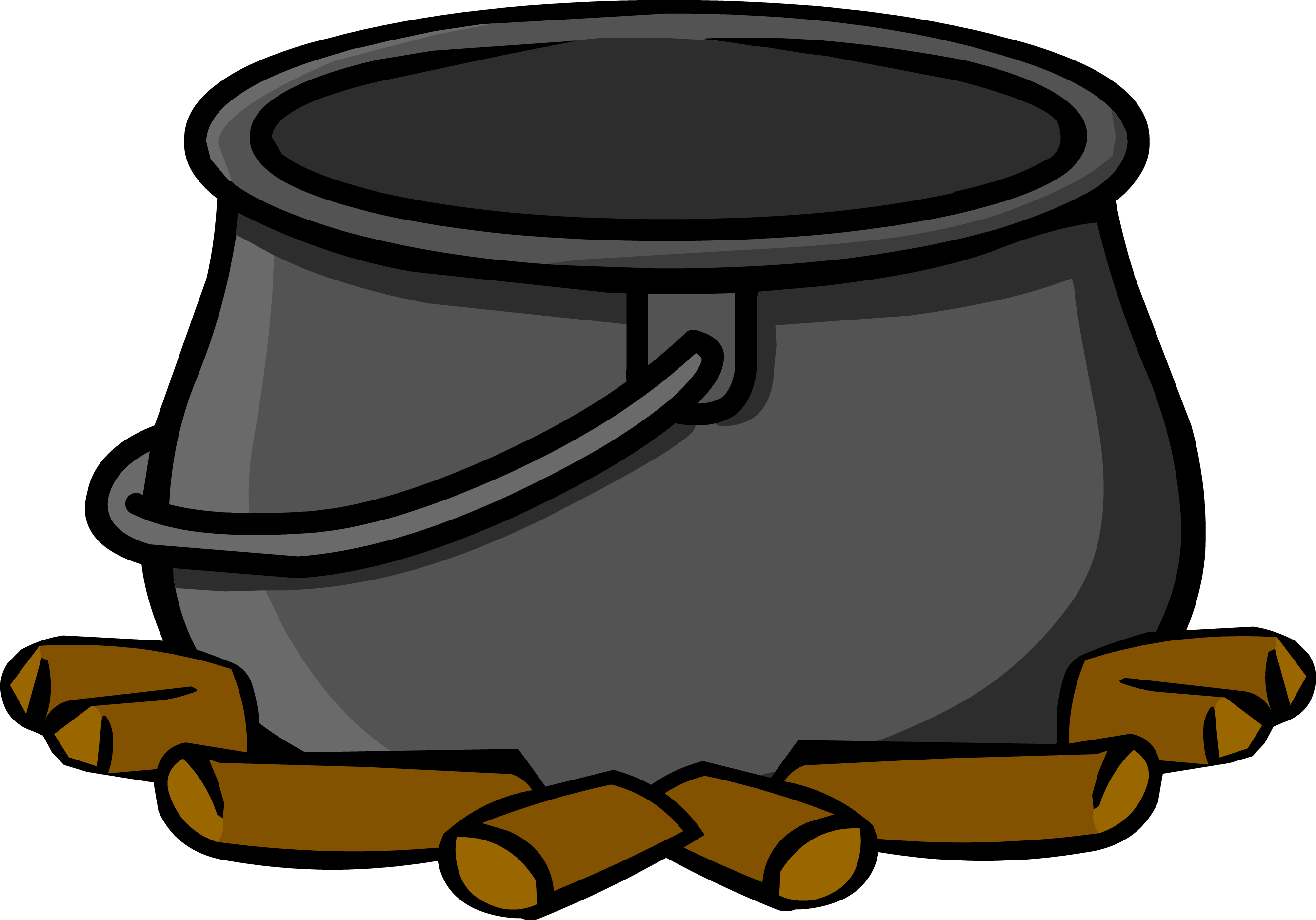 Cauldron clipart empty, Cauldron empty Transparent FREE for.