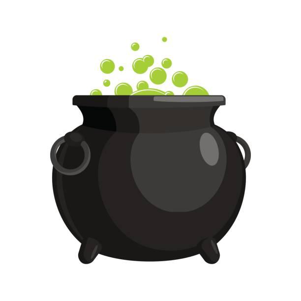 Cauldron PNG Transparent Image.