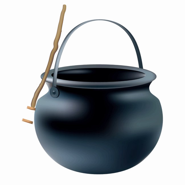 Download Free png Cauldron PNG Clipart.