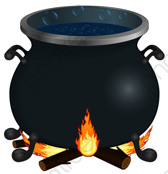 Halloween Horror Creative Cauldron, Halloween Clipart, Halloween.