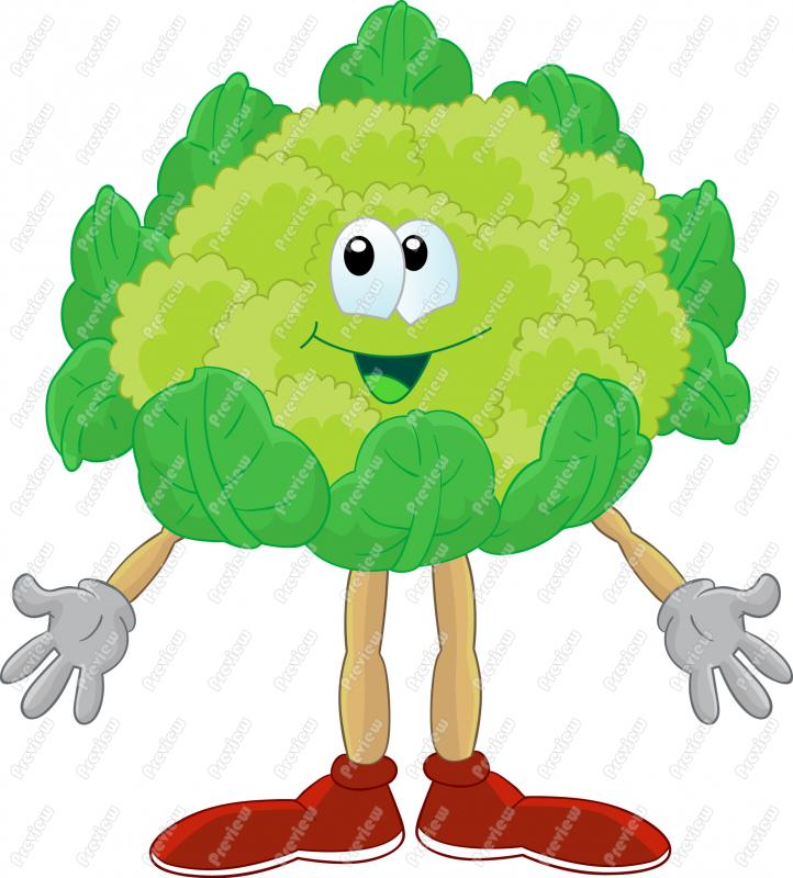 Cauliflower Clipart.