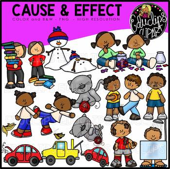 Cause And Effect Clip Art Bundle {Educlips Clipart}.