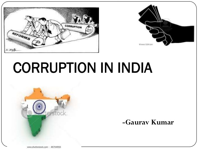 corruption cause effect and solution.