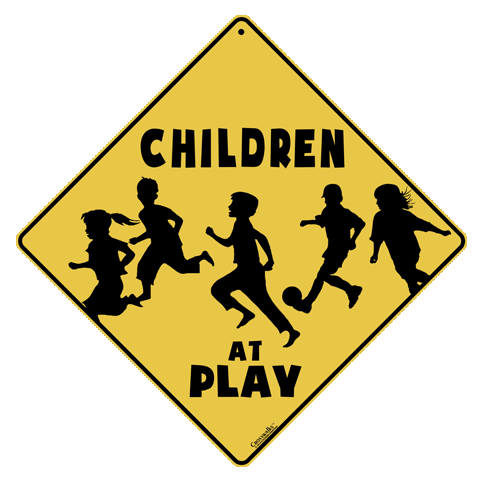 Children At Play.