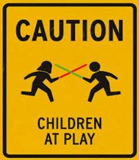 Free Caution Children at Play Sign Clipart.