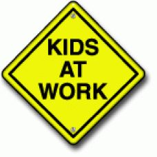 Kids at work construction clipart.