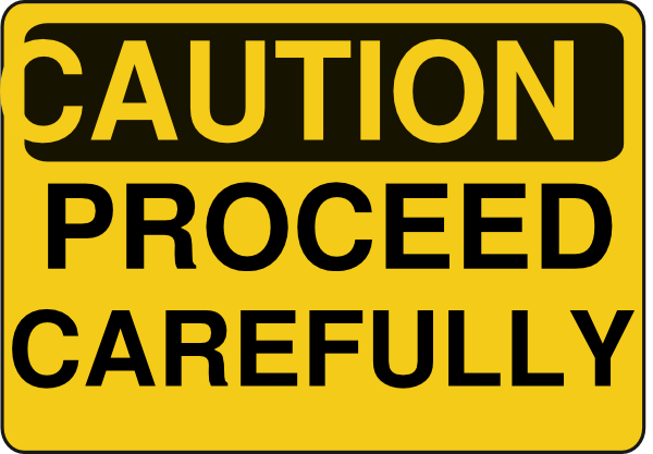 Caution Clipart.