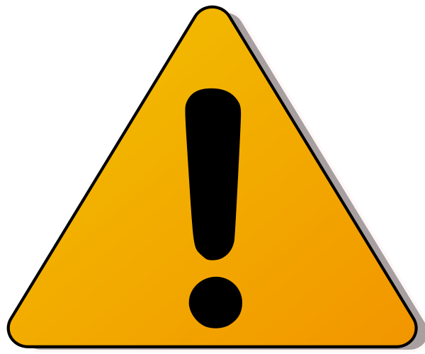 Caution Sign Clipart.