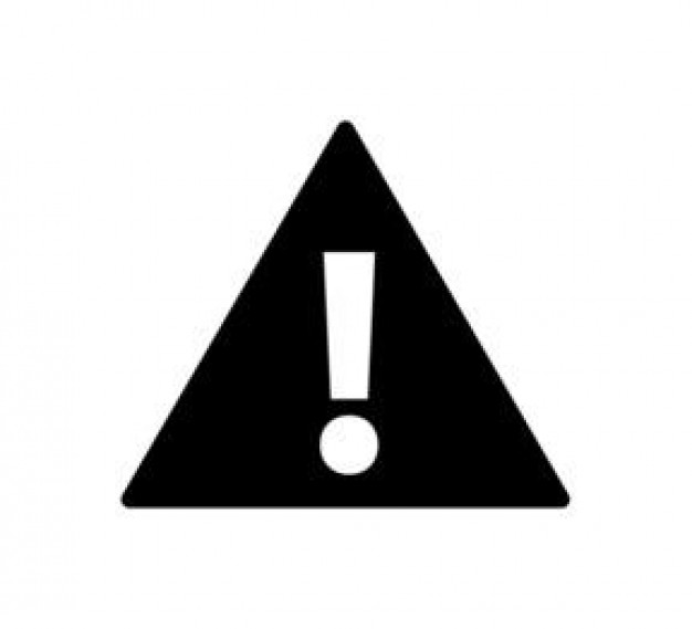 Free Caution Clip Art Black And White, Download Free Clip.