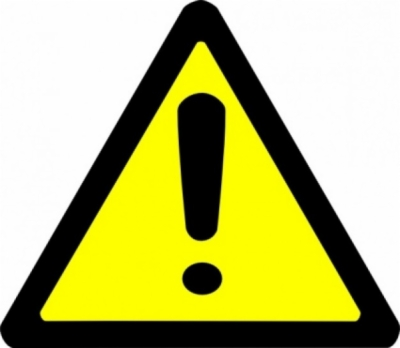 caution sign , Free clipart download.
