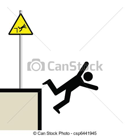 Fall Safety Clipart.
