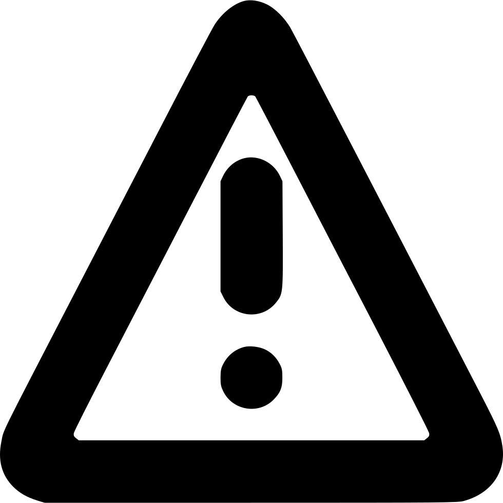 Danger Warning Sign Caution Alert Attention Error Svg Png Icon Free.