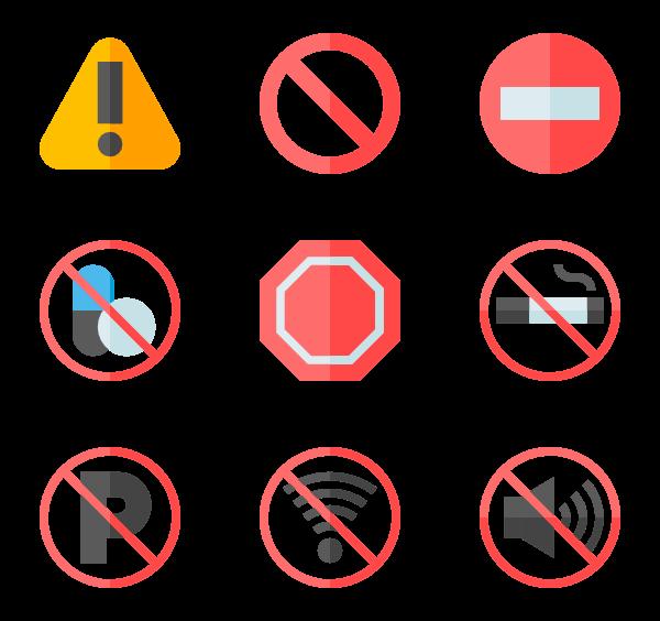Caution Icons.