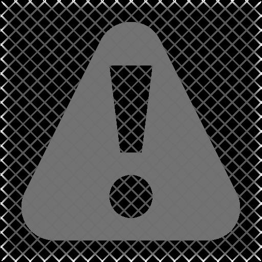 Caution Icon.