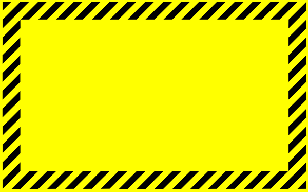 Blank Caution Sign Clip Art Free Download At Clipartkid Com Vector.