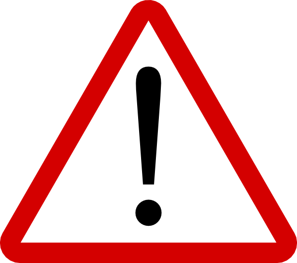 Caution clipart emergency sign.