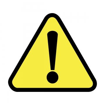 Caution PNG Images.