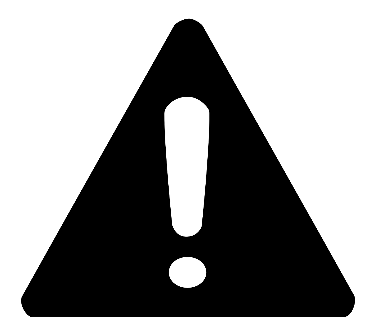 Warning Sign Attention Caution PNG.
