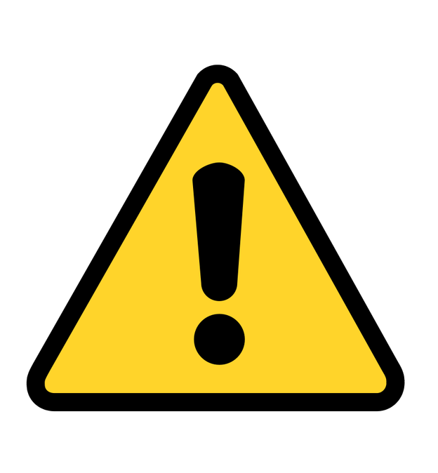 Caution Png Vector, Clipart, PSD.