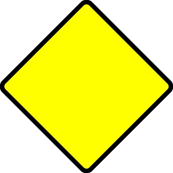 blank street signs.