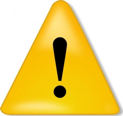 Warning Sign clip art clip arts, free clip art.
