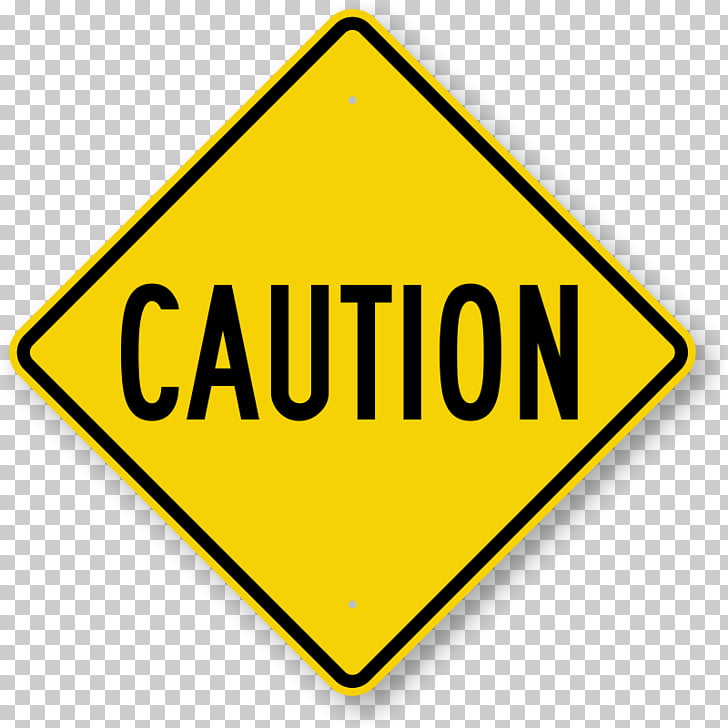 Warning sign Safety Traffic sign , Free Construction PNG.