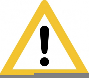 Warning Sign Clipart Free.