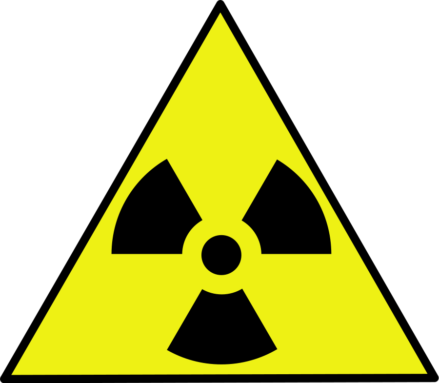 Nuclear Zone Warning Sign Clip Art Free Vector 4vector.