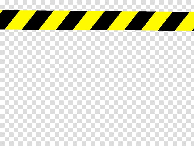 Police Tape s, yellow and black caution tape transparent.