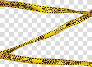 Police Tape s, yellow and black caution tape transparent background.