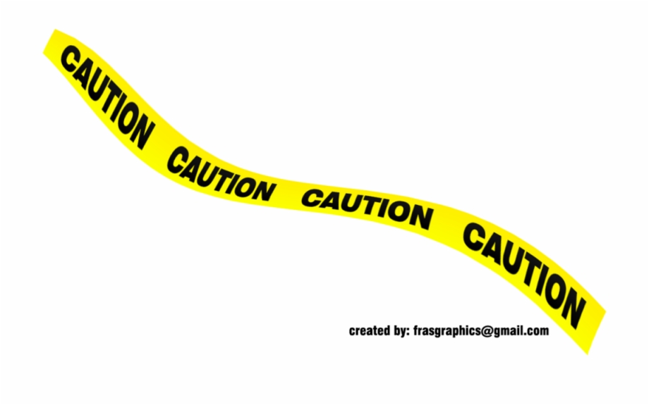 Black And Yellow Caution Tape 1.